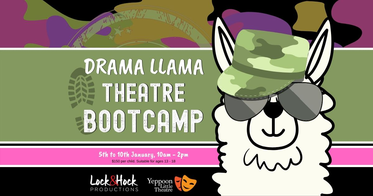 YLT_Drama Llama Bootcamp_Facebook Event Cover